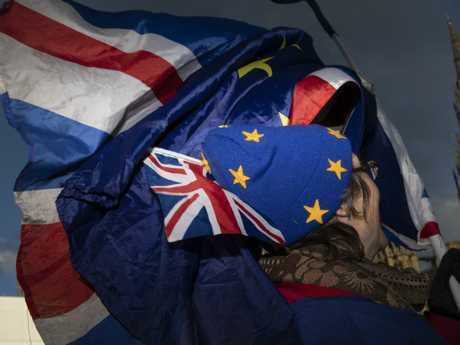 Brexit protests are continuing, with both sides claiming to be let down by the draft agreement.