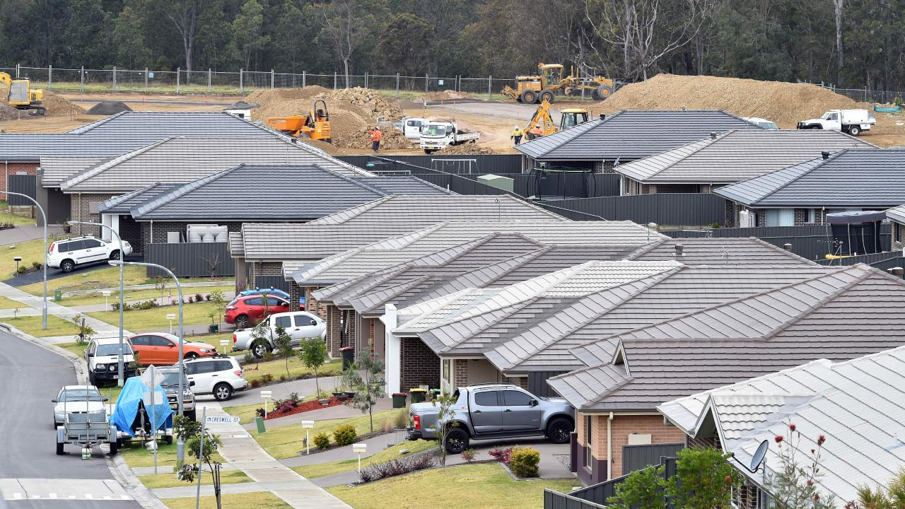 Strong skilled migration helped population growth leading to a boom in residential building, according to HIA. Picture: AAP Image/Troy Snook.