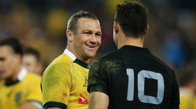 Wallabies star Matt Giteau with All Blacks rival Dan Carter are among those linked to the new competition