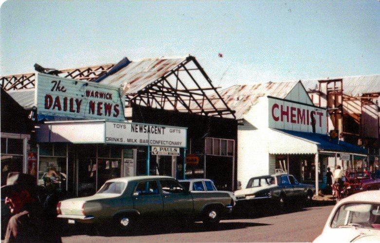 ANNIVERSARY: Killarney was hit by a destructive storm on November 22, 1968. Most buildings were damaged.