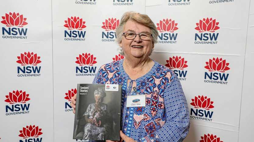 Seniors' Stories, Volume 4 editor Colleen Parker of the NSW branch of the Fellowship of Australian Writers.
