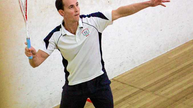 ON COURT: 52 Squash and Fitness Centre manager Ben Courtice is excited for what the new squash court renovations will mean for the sport in Mackay.