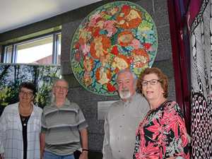 Hospital mosaic honors gift of life from organ donors