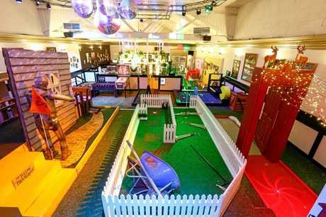 Strike Bowling and Holey Moley Golf Club at Big Top Shopping Centre.