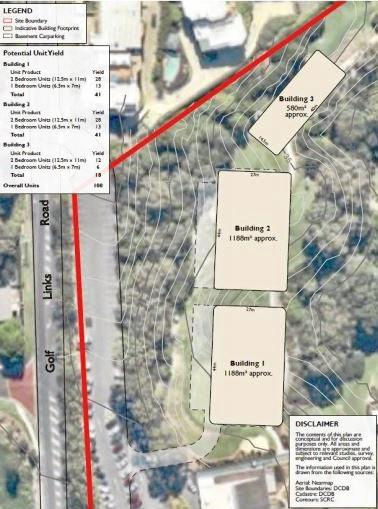 Headland Golf Club is investigating the potential for 100 retirement living units to be built on its 18th hole beside Golf Links Drive at Buderim.