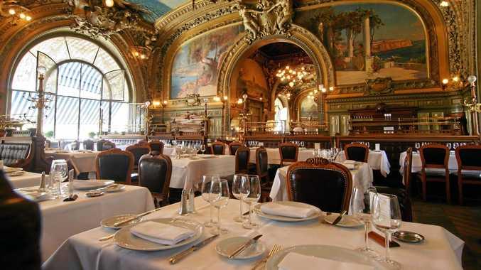 Le Train Bleu restaurant at the Gare de Lyon station in Paris.