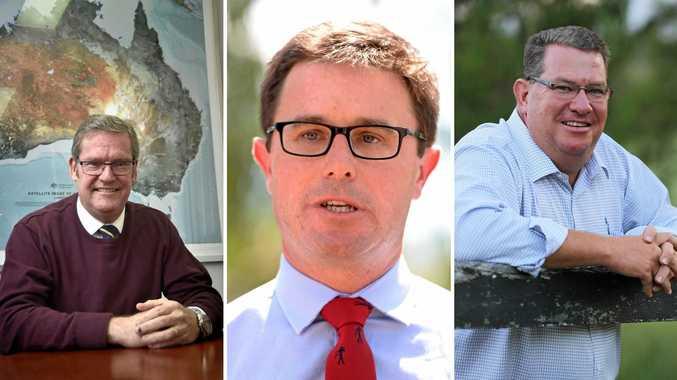 John McVeigh, David Littleproud, Scott Buchholz
