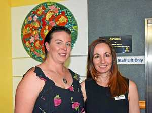 Mother's touching tribute to late daughter at art unveiling