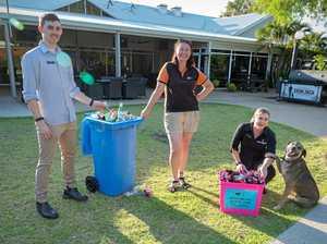 Empty bottles funding vet work for rescue pups