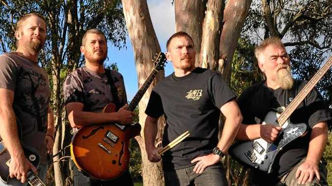 ROCK ON: Local band Last Days will be performing at the Ballandean Twilight Markets.
