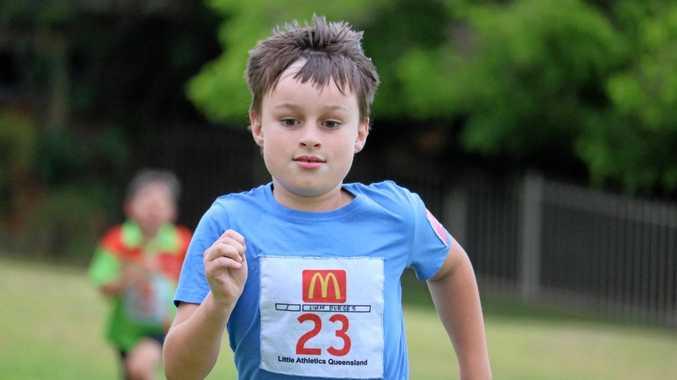 RUNNER: Liam Burges enjoys middle distance,
