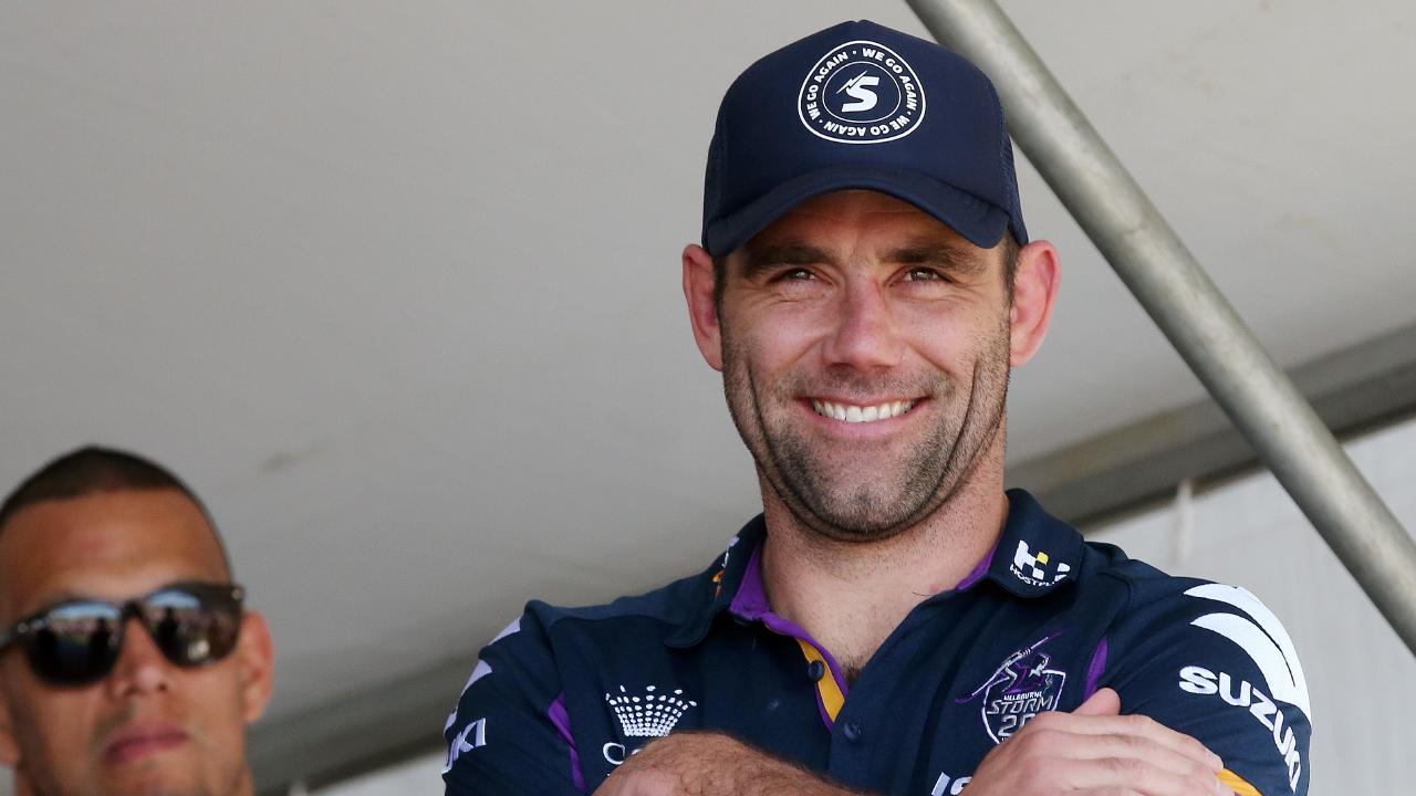 Storm skipper Cameron Smith wants to play in the NRL in 2019 and 2020. Picture: Michael Klein