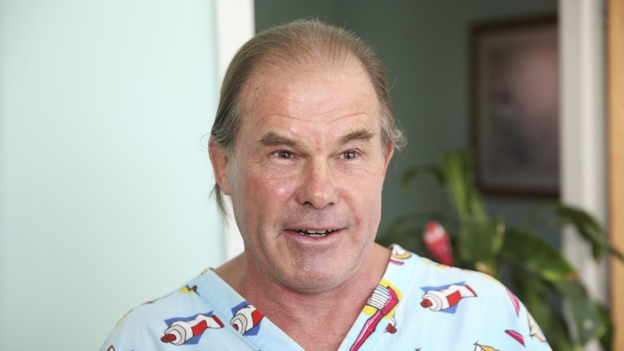 Hero dentist Dr Jeffrey Stack, who punched the attacker at the dance studio. Picture: Justin Lloyd