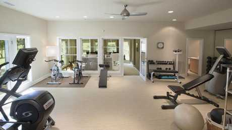 A home gym. Picture: French King Properties