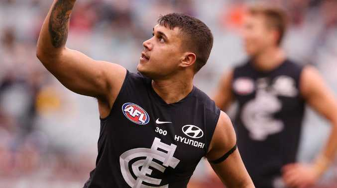 Carlton forward returns overweight