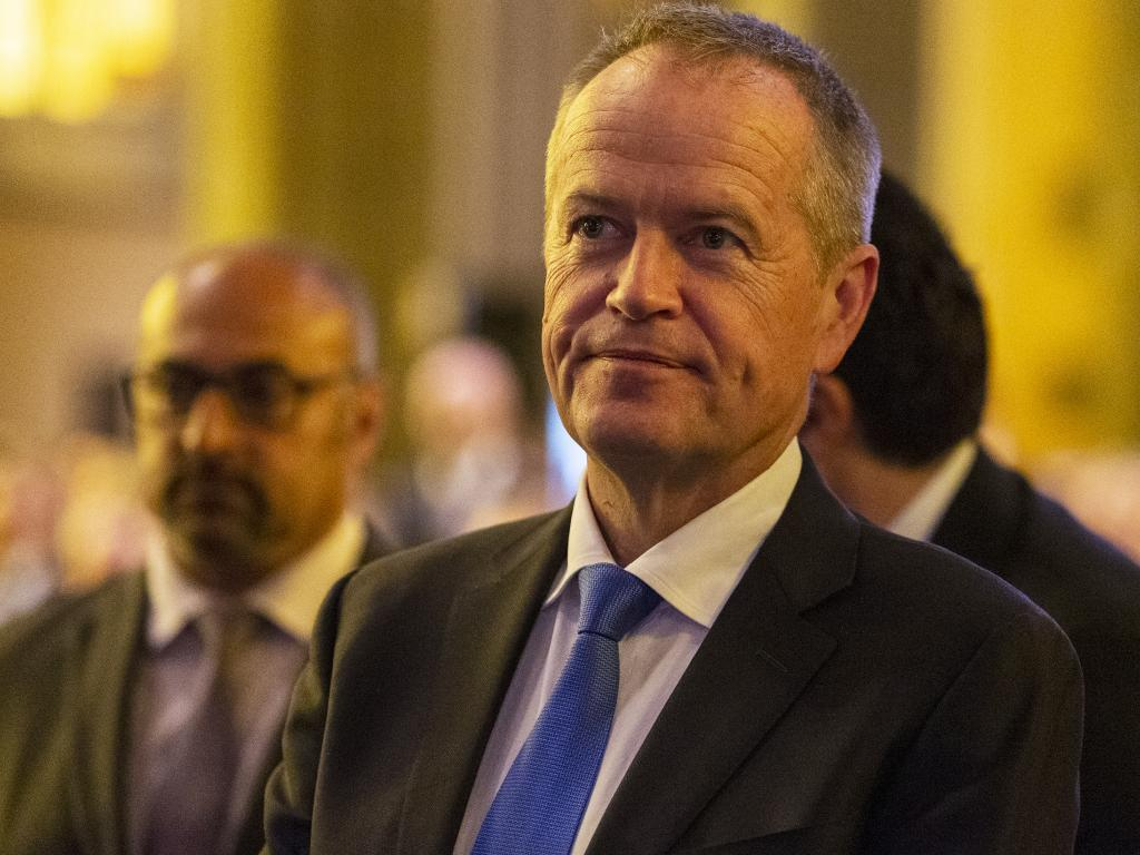 Labor leader Bill Shorten will announce a $140 million spend on a battery scheme. Picture: AAP