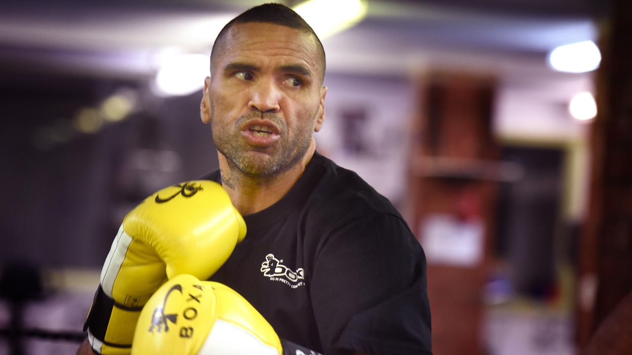 Anthony Mundine insists he'll be too good for Jeff Horn. Picture: Tony Gough