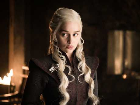 Daenerys Targaryen is the Mother of Dragons, but author George R.R. Martin says the creatures are 'destructive forces'. Picture: HBO