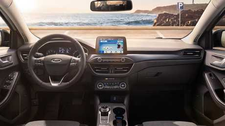 The Focus gets Ford's latest SYNC3 infotainment technology.