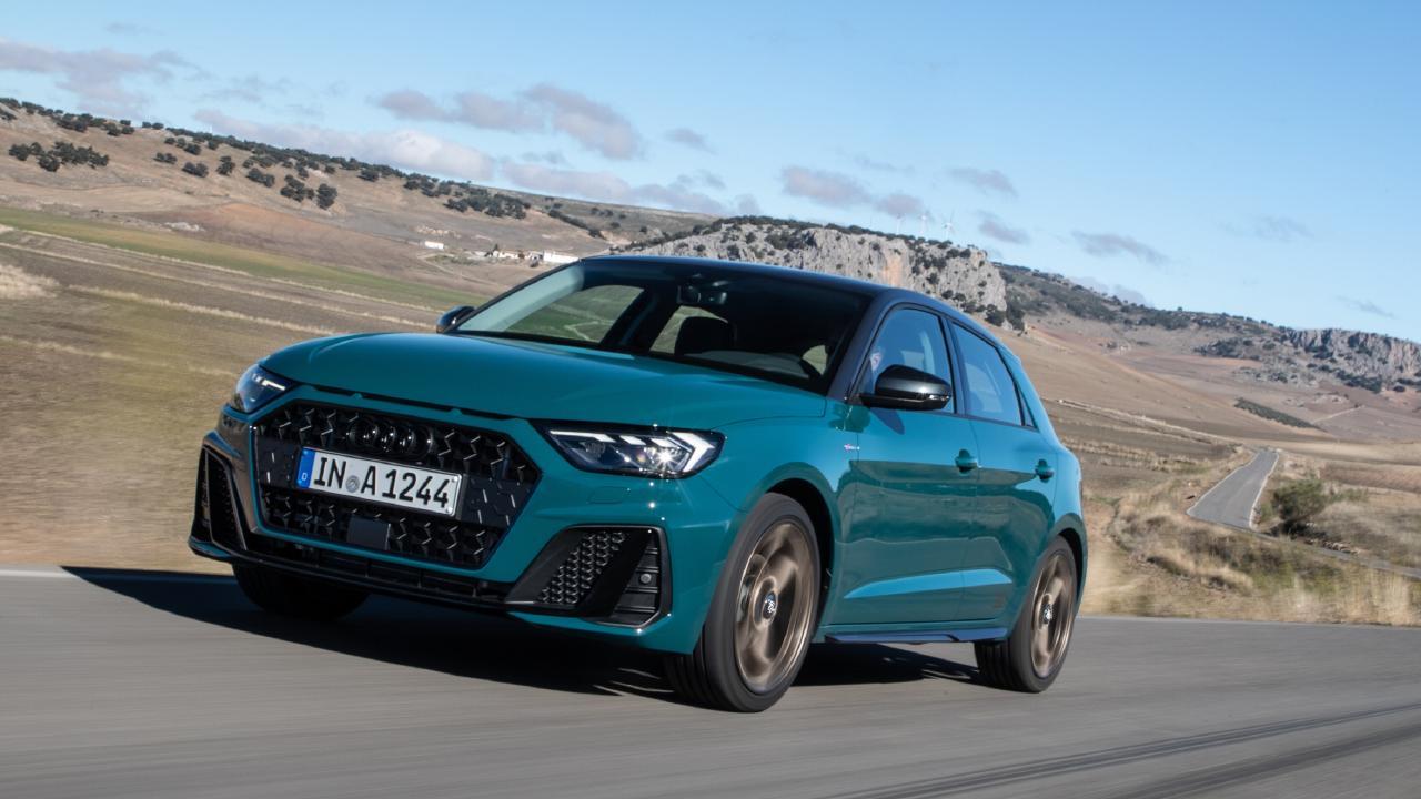 2018 Audi A1.