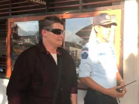 The Bali Nine drug courier appeared nervous, say witnesses.