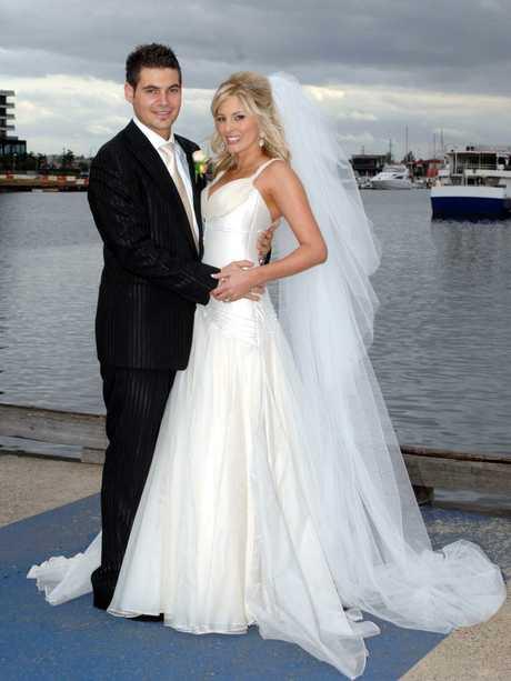The pair had a lavish Docklands reception.