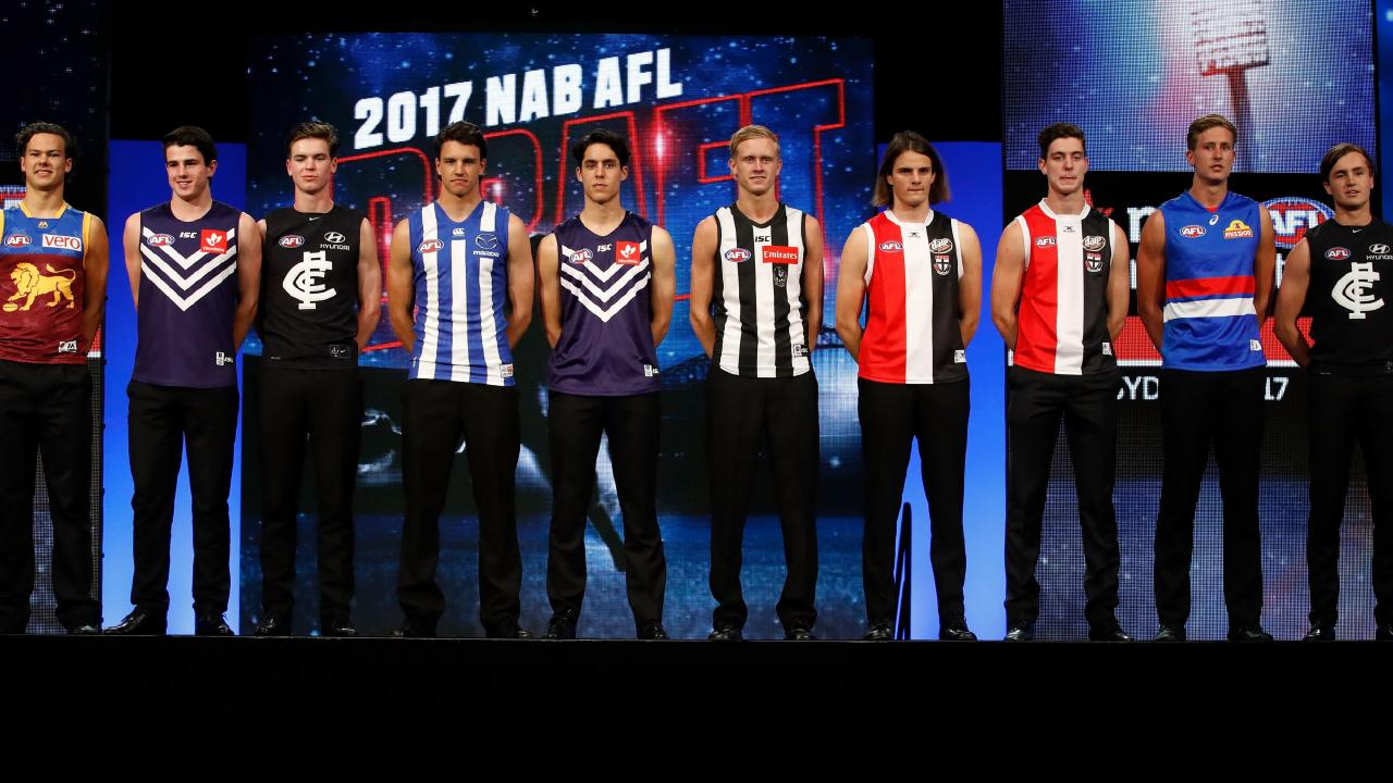 The class of 2017... who will be among the top draftees of 2018.