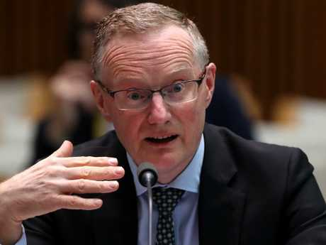 Reserve Bank of Australia governor Philip Lowe has issued a warning to Australia's banks. Picture: Kym Smith