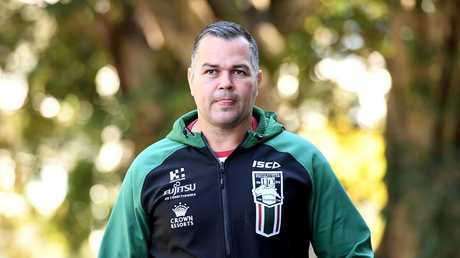 Anthony Seibold is likely to be in Broncos colours by Christmas. Picture: AAP