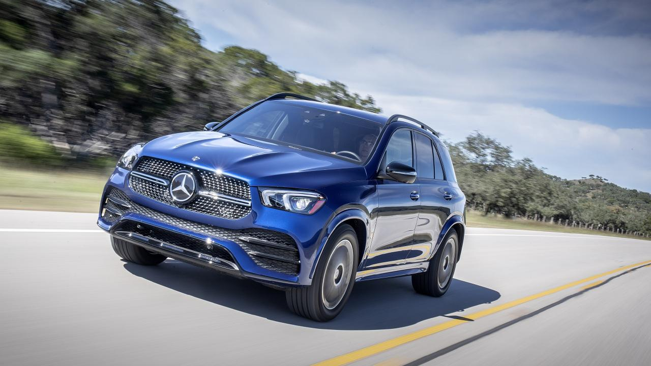 The new GLE has a safety feature that protects your ears during an accident.