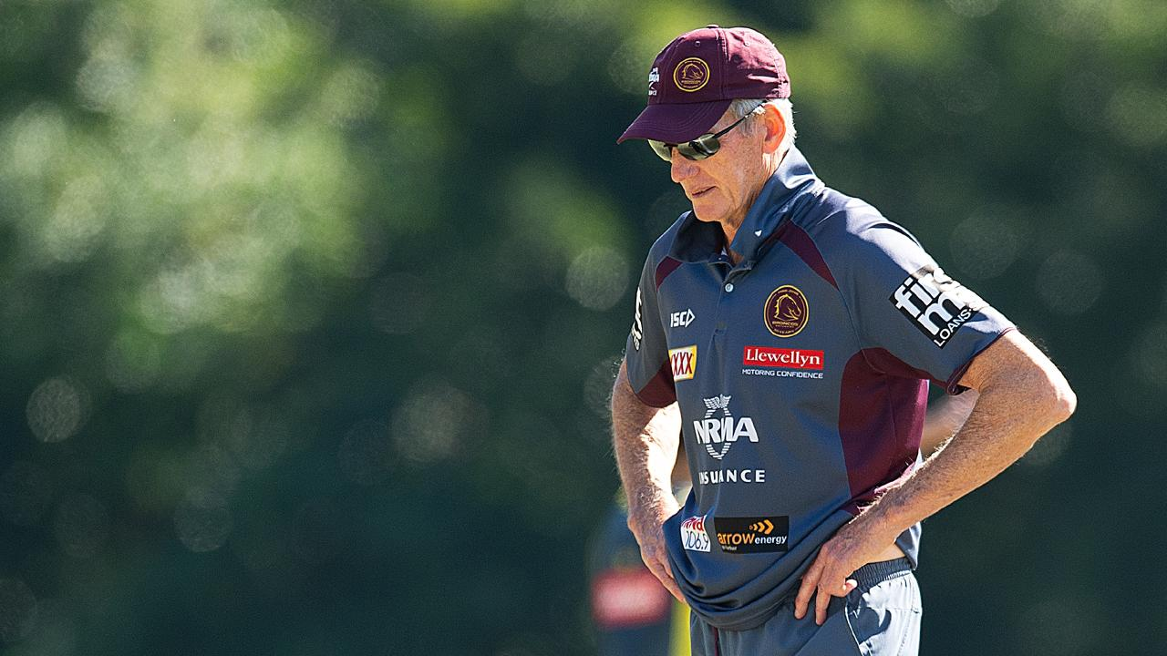 Wayne Bennett's legendary reign at the Broncos is set to be over by Christmas. Picture: AAP
