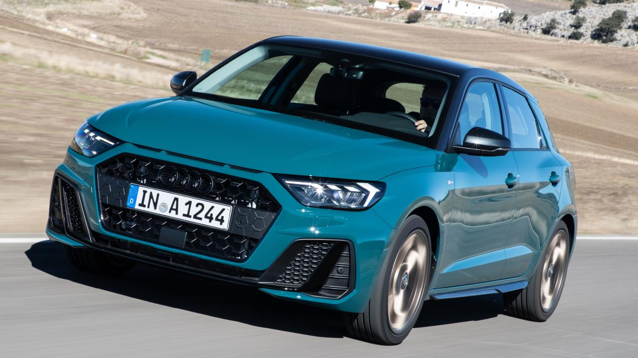 The Audi A1 is built on the versatile Volkswagen MQB platform.