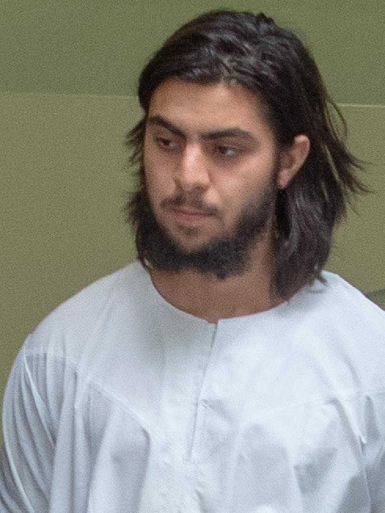Hanifi Halis after the terror raids in Melbourne's North. Picture: Jay Town