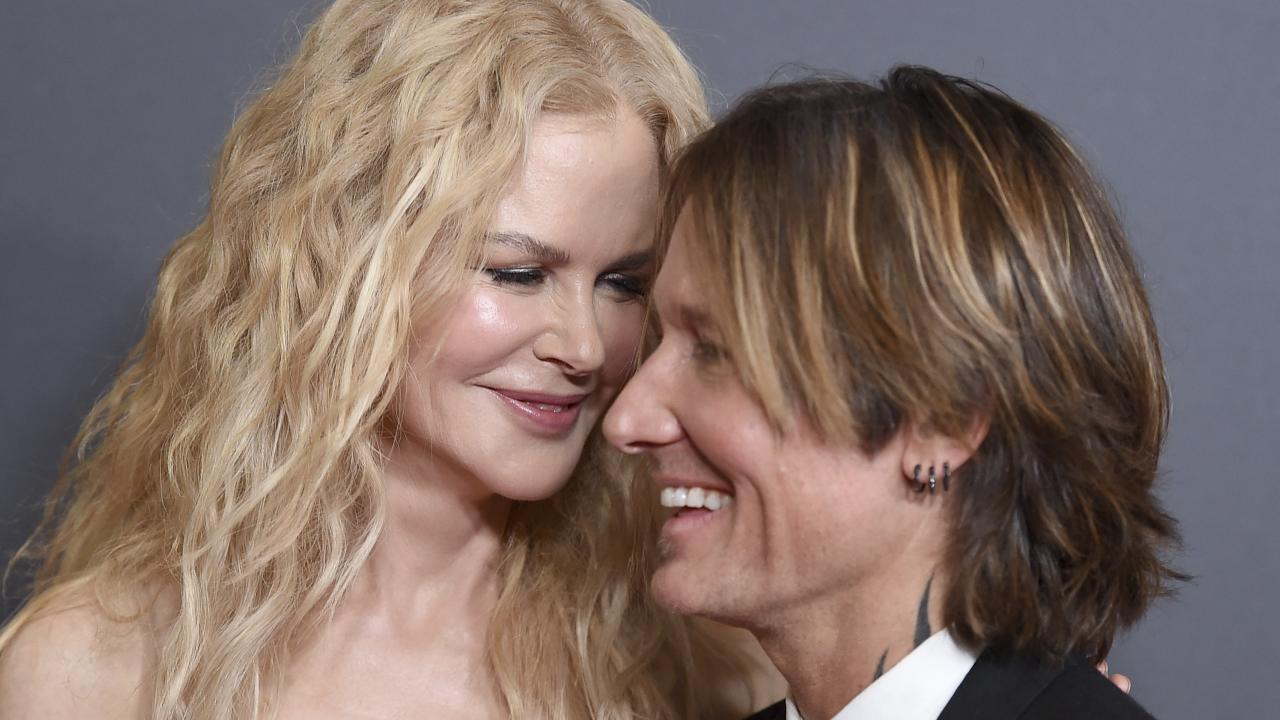 Nicole Kidman and Keith Urban. Picture: AP