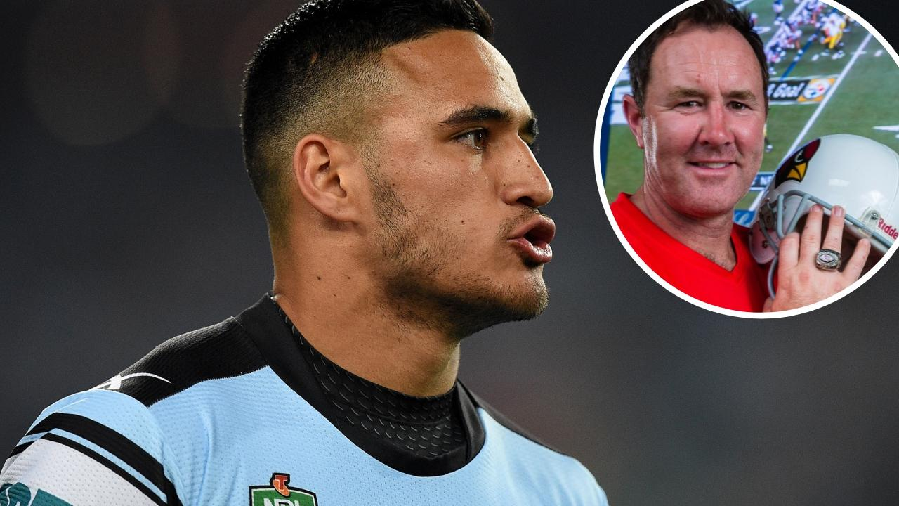 Former AFL and NFL star Ben Graham's advice for Valentine Holmes.
