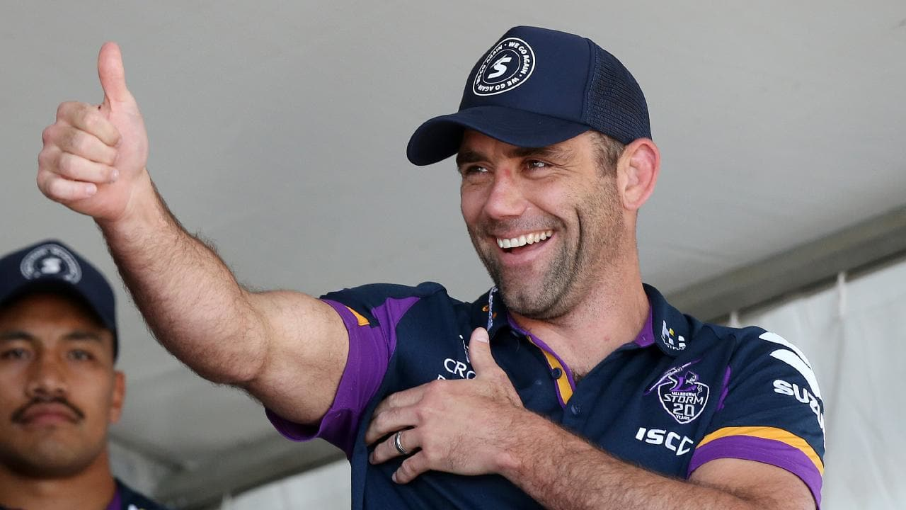Cameron Smith is eyeing a two-year deal with the Storm. Picture: Michael Klein