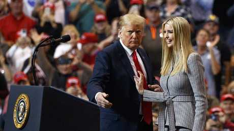 Experts say Donald Trump has had a massive impact on Ivanka's brand. And not in a good way. Picture: AP