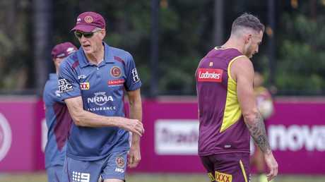 Wayne Bennett and Darius Boyd return to training on Thursday. Picture: AAP