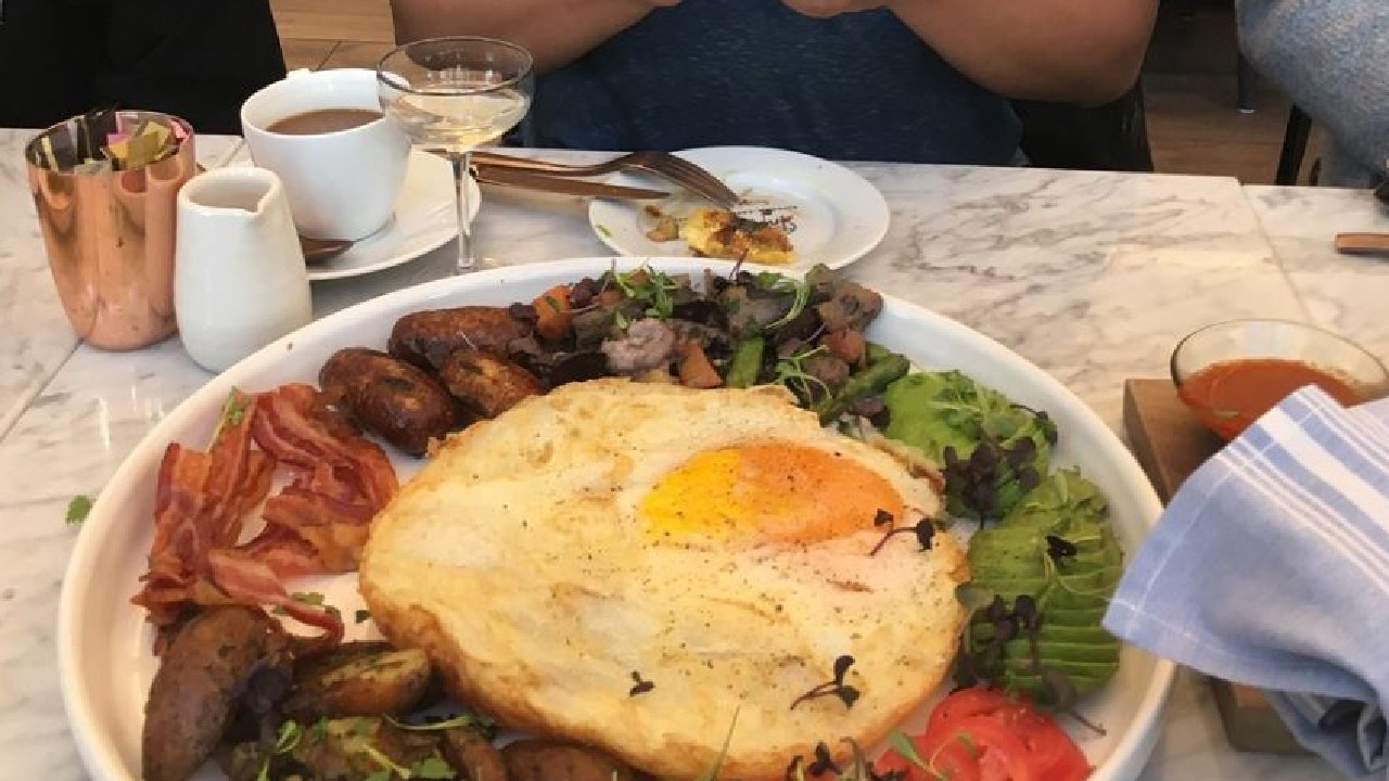 The ostrich egg in all its glory. Picture: TripAdvisor traveller