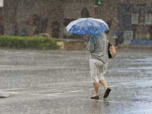 Weather watch: Showers, storms for Toowoomba today