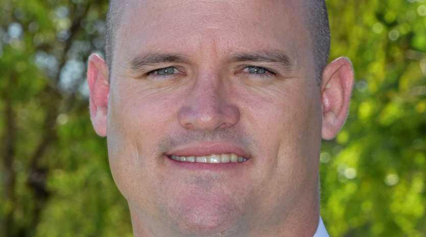 CQUniversity Bundaberg's Bundaberg's new Associate Vice-Chancellor Luke Sinclair.