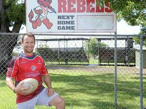 BACK TO HIS ROOTS: Nagle ready to lead Rebels reggies
