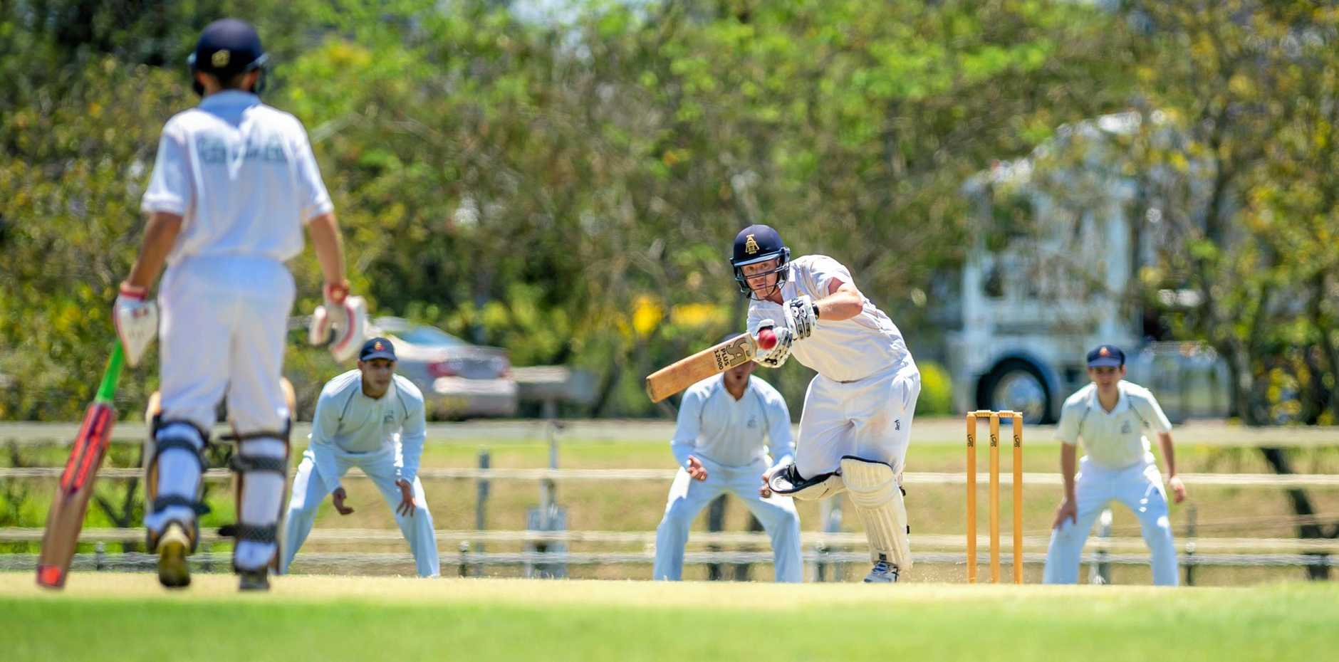 FOCUS: Gympie Gold captain Lewis Waugh will need to lift as the Gold chase a win against Yandina.