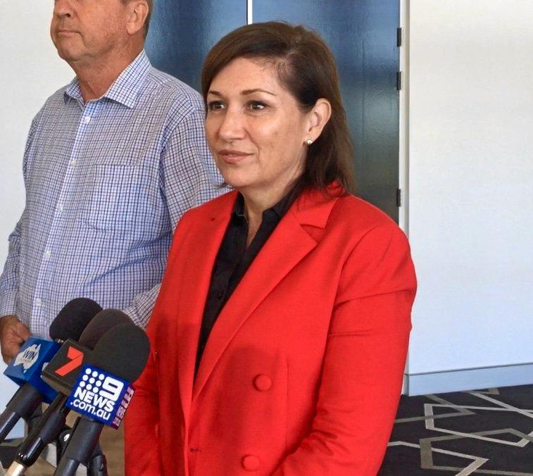 Environment Minister Leeanne Enoch was in Bundaberg for a forum discussing the waste solution for Australia.