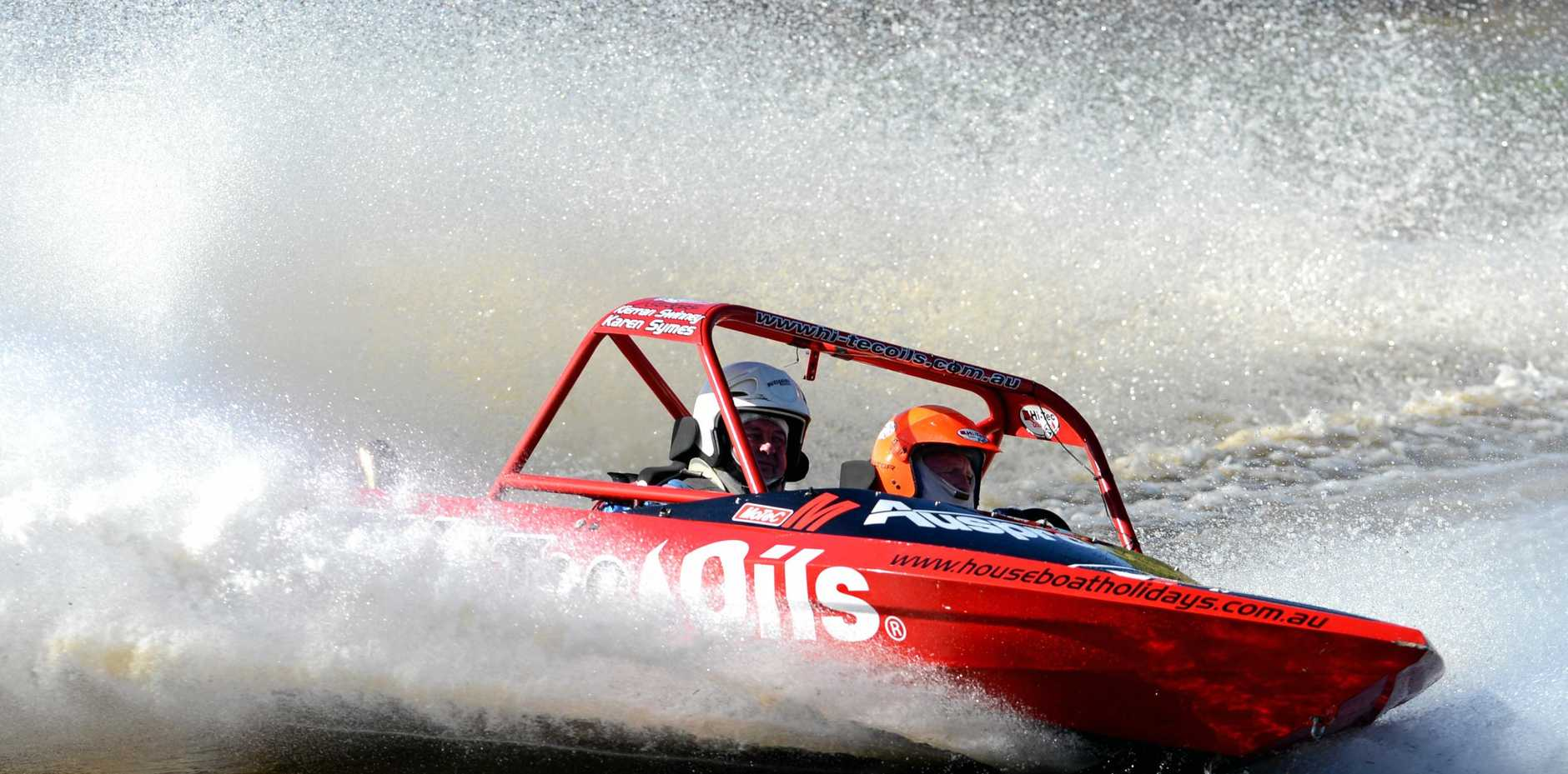 SPEED: Here's your chance to try jet boating.