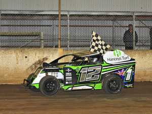 Multi-title modlites champ Hancey on track