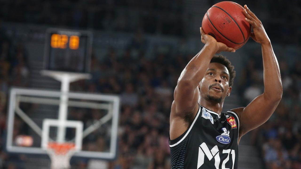 Casper Ware has been on fire for Melbourne United. Picture: Michael Klein