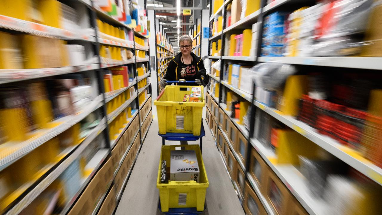 Amazon Australia has backflipped on its GST protest, but will still restrict what Australian shoppers can buy. Picture: Getty