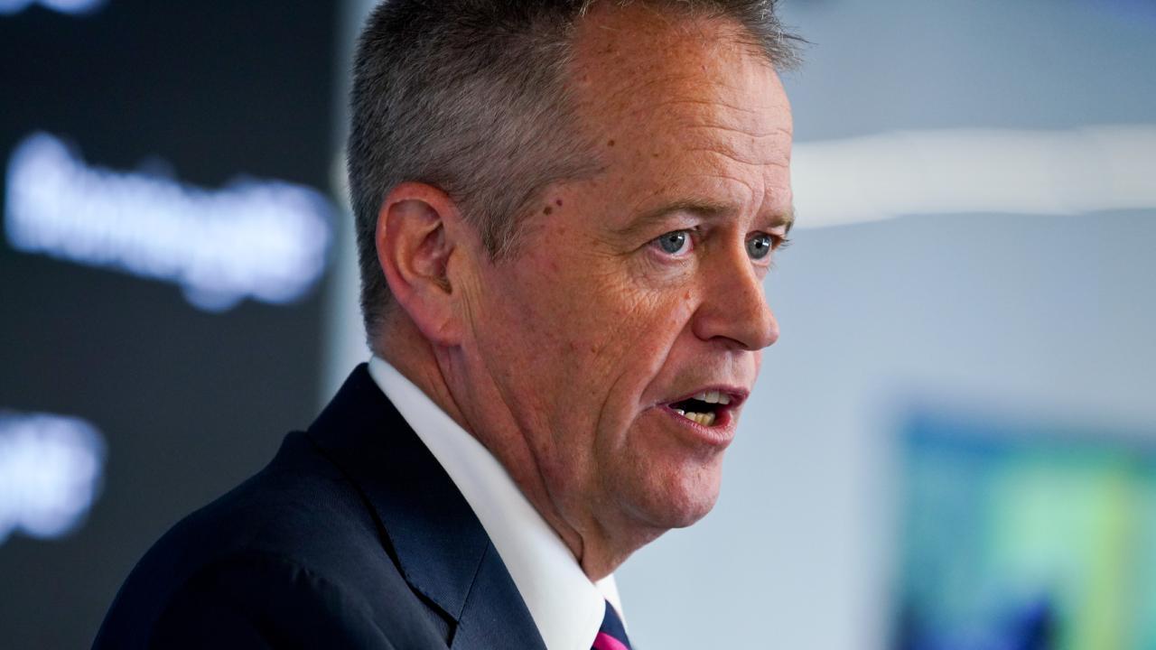 Bill Shorten has announced federal Labor's $15 billion energy plan. Picture: AAP Image/Ben Rushton