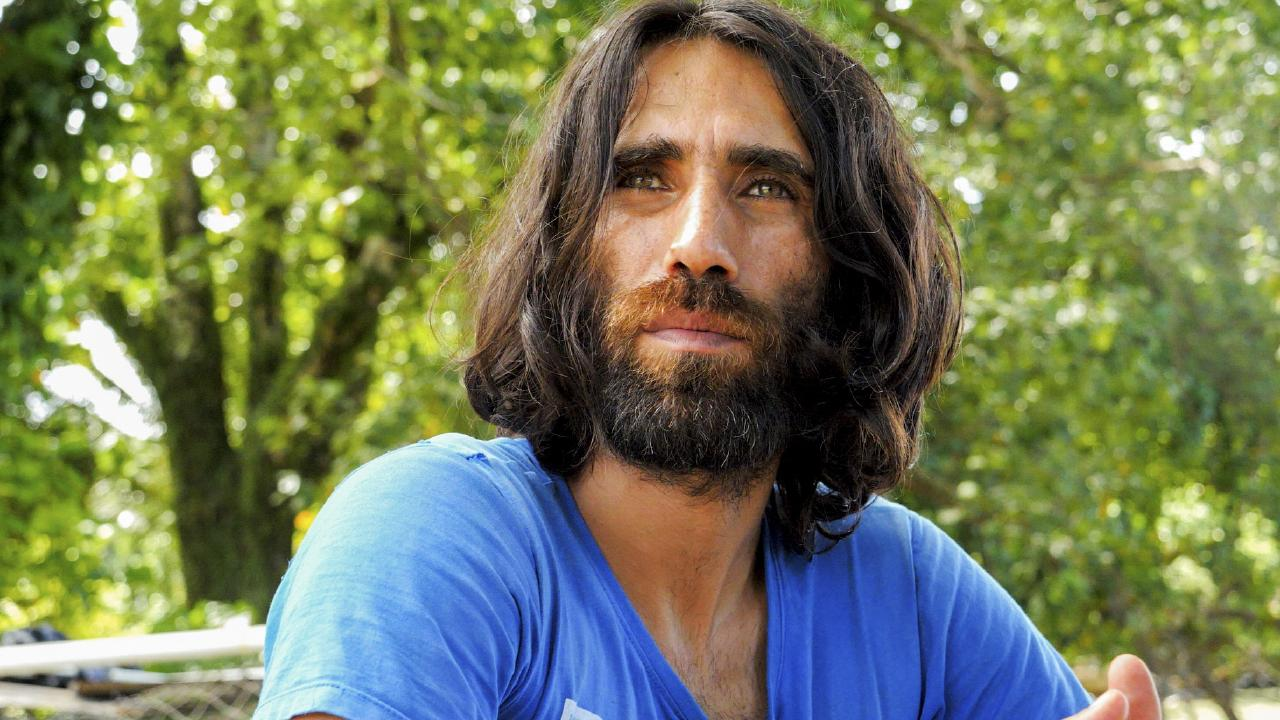 Behrouz Boochani is one of the men abandoned by the Australian government on Manus Island. Picture: supplied